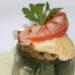 Un bocado exquisito: alcachofa de la Vega Baja rellena con gambas